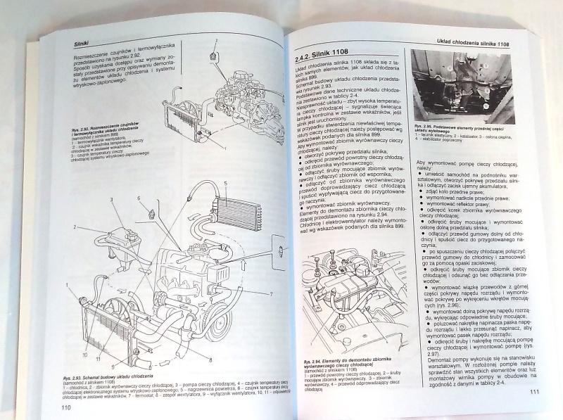 układ chłodzenia silnika seicento, wymiana chłodnicy seicento