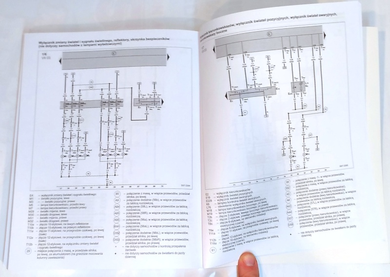 schemat fabia 1, schemat instalacji fabia 1